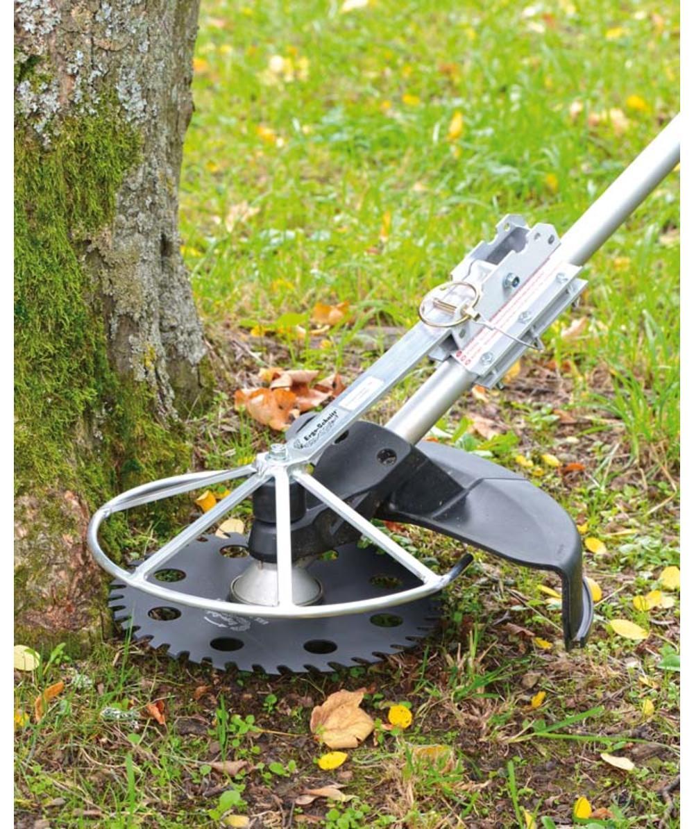Protège-bordures et écorces pliable, Pour des lames de débroussailleuse jusqu'à un diamètre ex.: 30,0 - 30,5 cm, XXERSK330