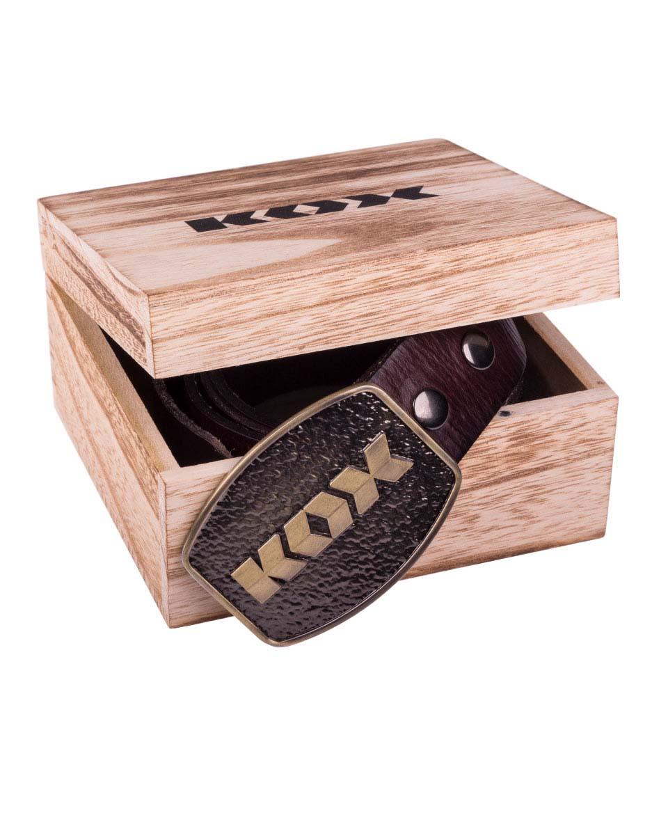 Ceinture KOX en cuir Image 4