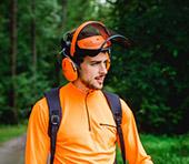 Visière de protection et coquilles antibruit G500, pour les travaux de débroussaillage, XX74107