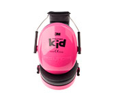 Protection auditive Peltor 3M pour enfants, en rose fluo, XX74215