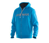 Sweat-shirt à capuche JOBMAN 5154 bleu