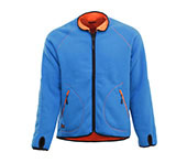 Veste polaire réversible JOBMAN 5192 orange/bleu