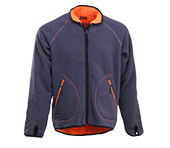 Veste polaire réversible JOBMAN 5192 orange/gris