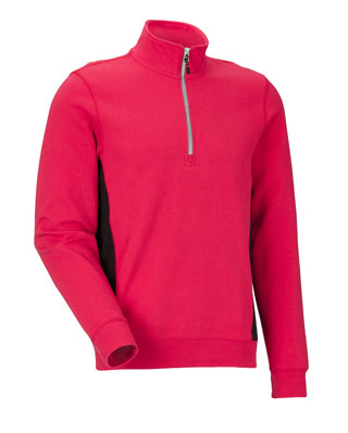 Sweat-shirt JOBMAN 5401 Rouge/noir