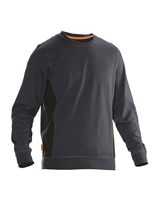 Sweat-shirt JOBMAN 5402 gris/noir